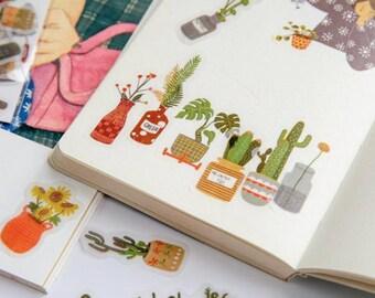 Planten stickers