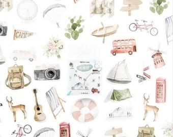 Vakantie stickers