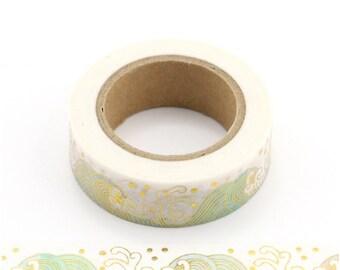 Washi tape met golven