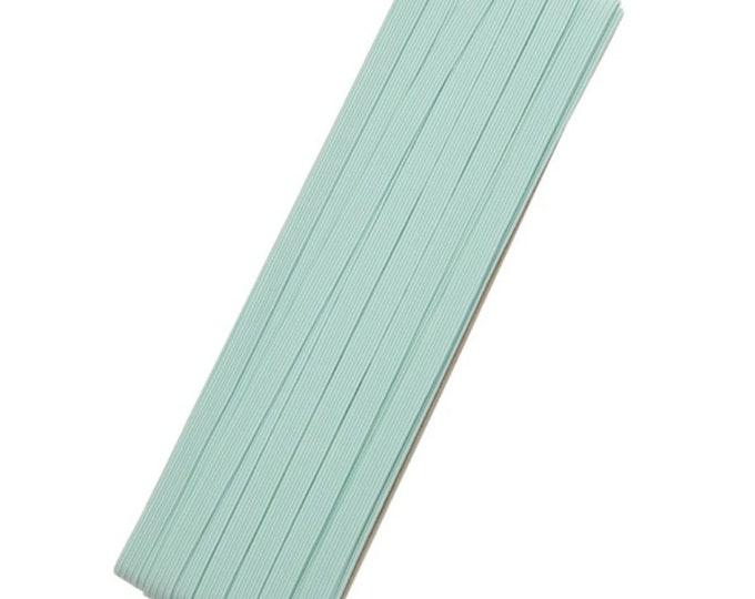 Groene elastiek, 6mm. Per 2 meter