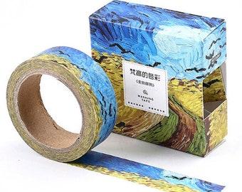 Washi tape met Vincent van Gogh