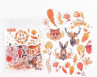 Herfst stickers, 40 stuks