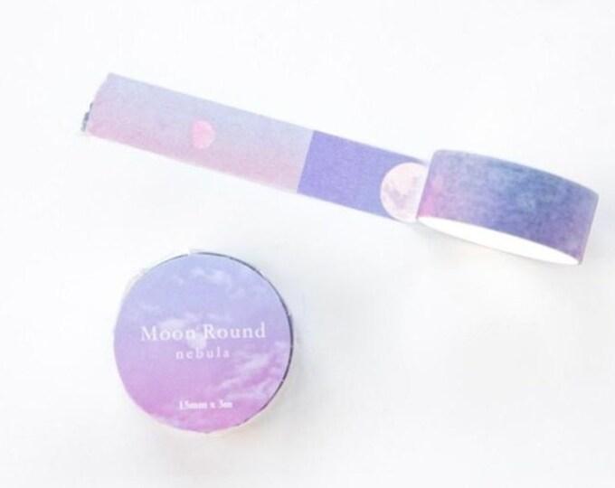 Washi tape met maan