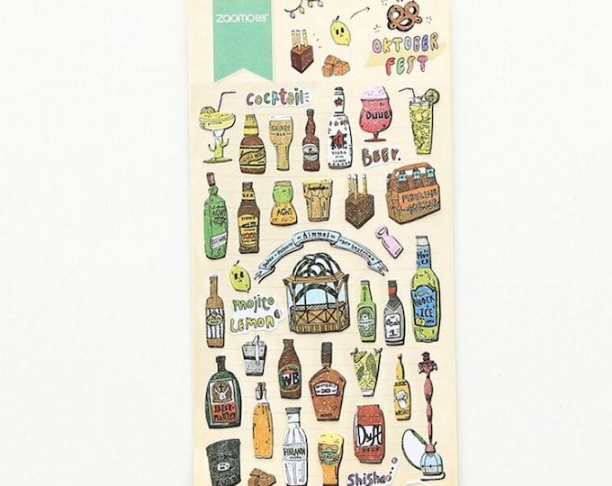 Drankjes stickers