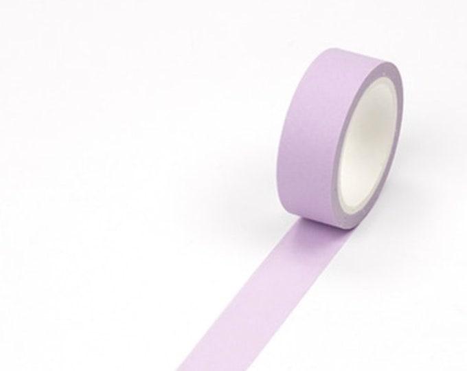 Effen paarse washi tape