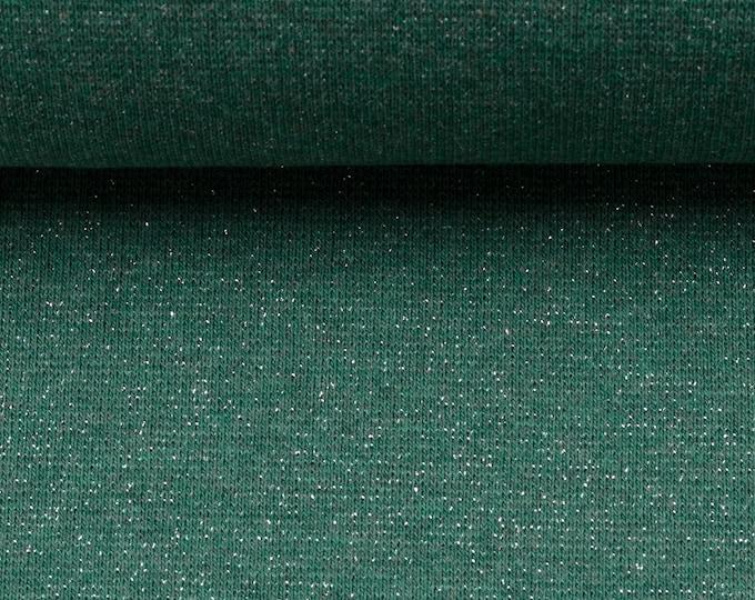 Groene glitter boordstof