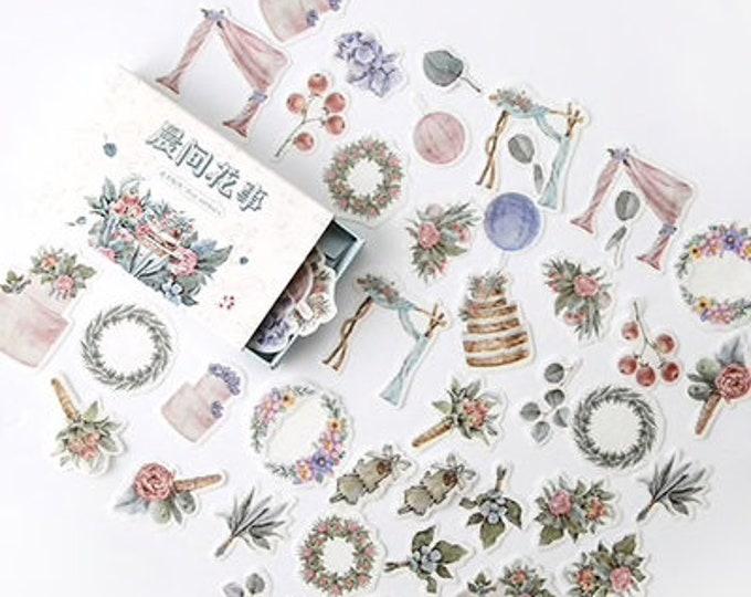 Verjaardag stickers, 40 stuks