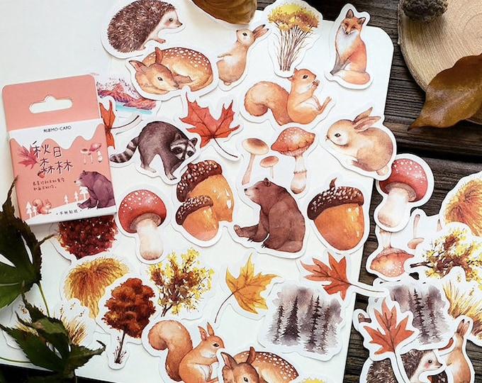 Herfst stickers