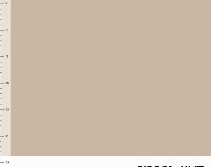 Beige boordstof. Elvelyckan Ribbed Knit Cappuccino (038)