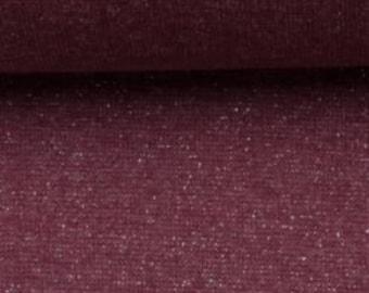 Rode boordstof met lurex