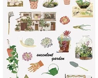 Planten stickertjes