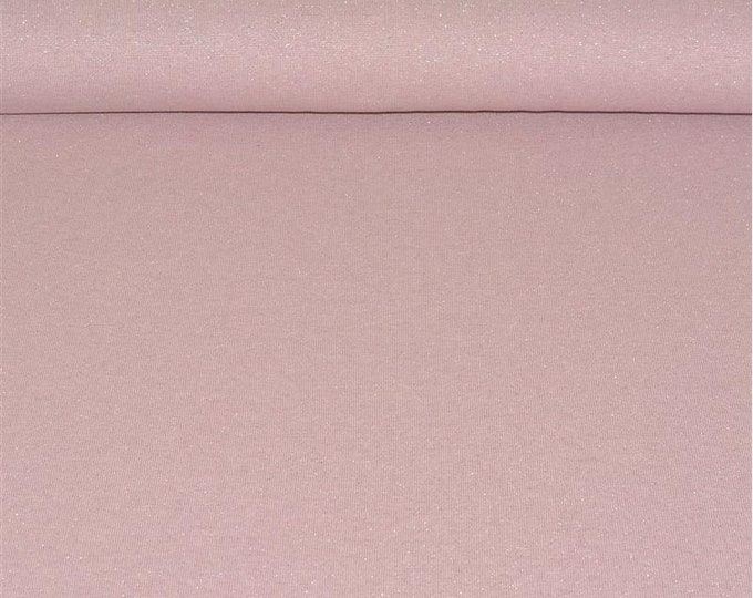 Roze boordstof met lurex