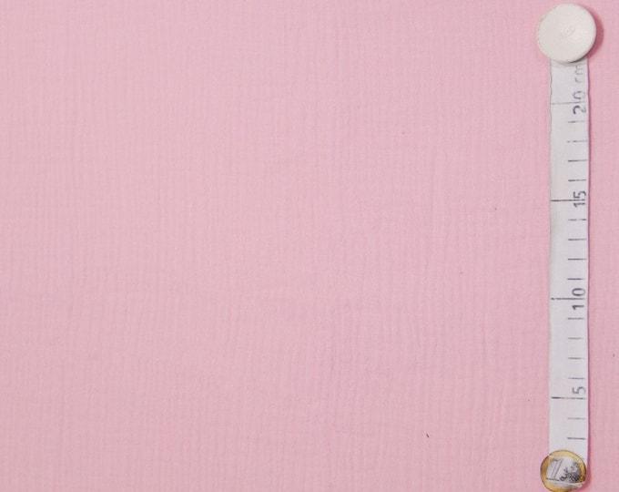Roze katoen. Mousseline