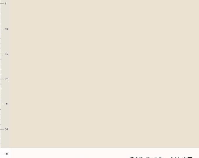 Creme biologische boordstof. Elvelyckan Ribbed Knit Creme (027)