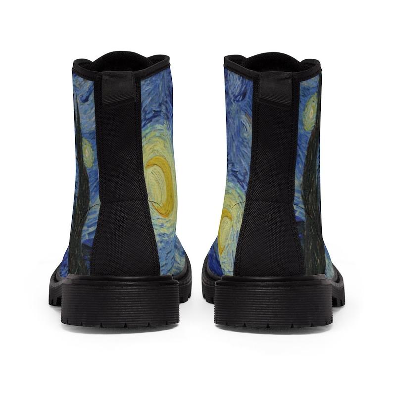 Gli stivali di tela di combattimento notturno stellato. 100% rYRz4U6P
