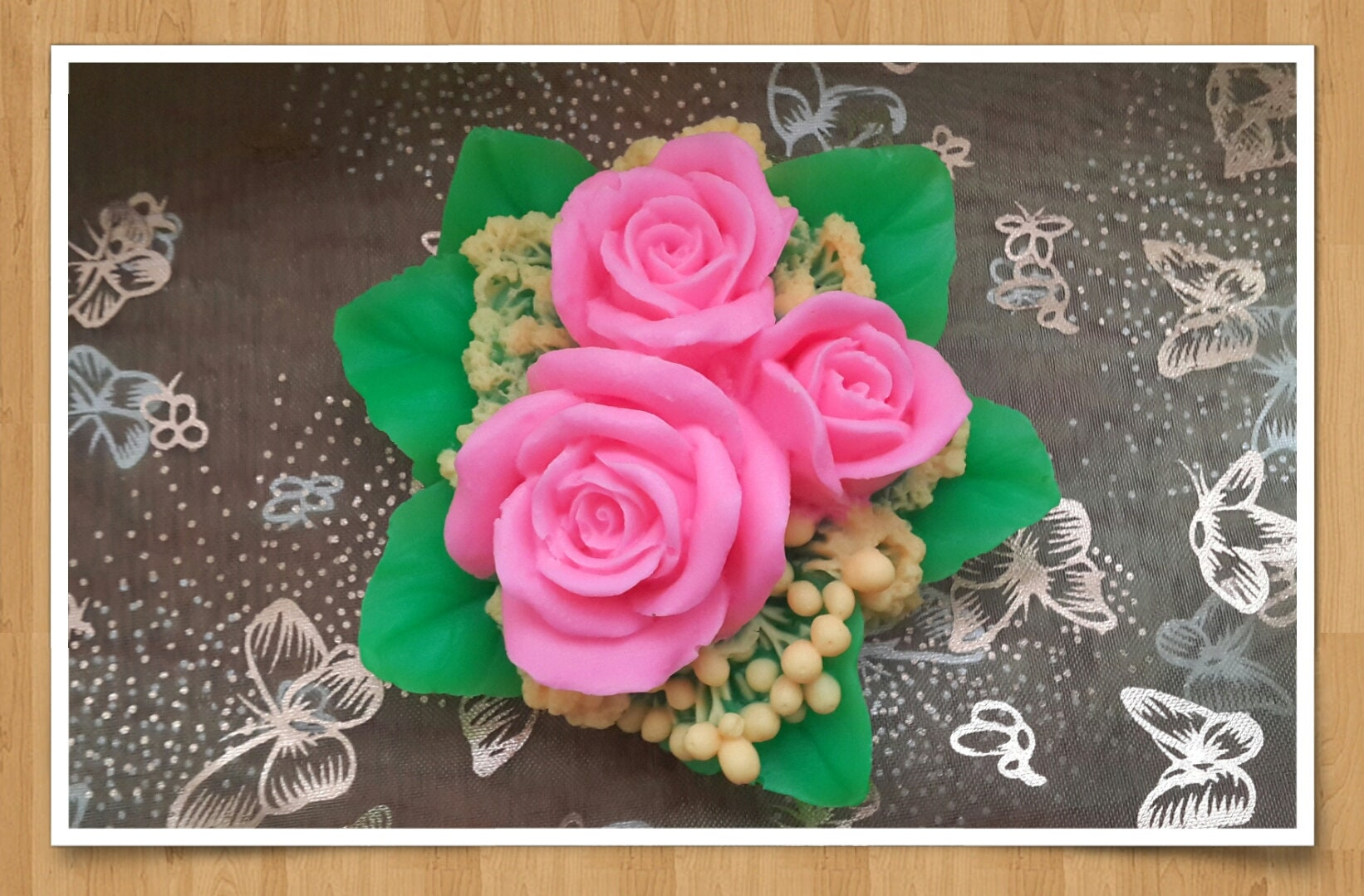 3d Silicone Mold A Big Bouquet Of Roses Silicone Mold For Etsy