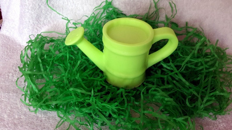 3D silicone mold a watering can silicone mold for soap gypsum chocolate candles