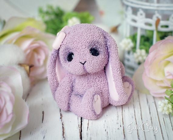 Rabbit mold gypsum candle chocolate SILICONE MOLDS 3D silicone mold Rabbit for soap kawaii mold