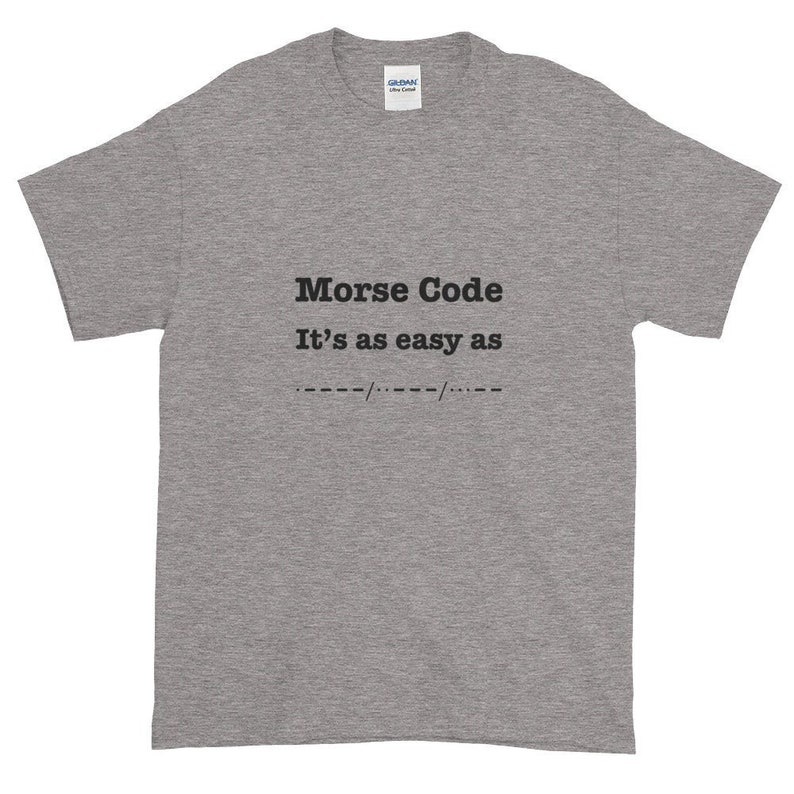 Morse Code is as easy as... image 0