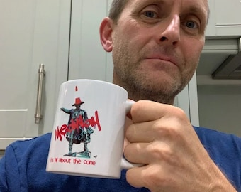 """Medway Thomas Waghorn Mug - """"It's All About The Cone"""""""