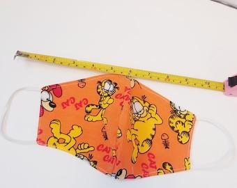 Garfield Cat Mask Etsy