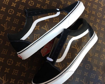 856d3342ee Vans custom Lv canvas