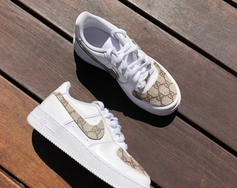 new product 441dd 6d9a2 Gucci Air Force 1s