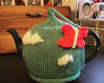 Buttefly tea cosy