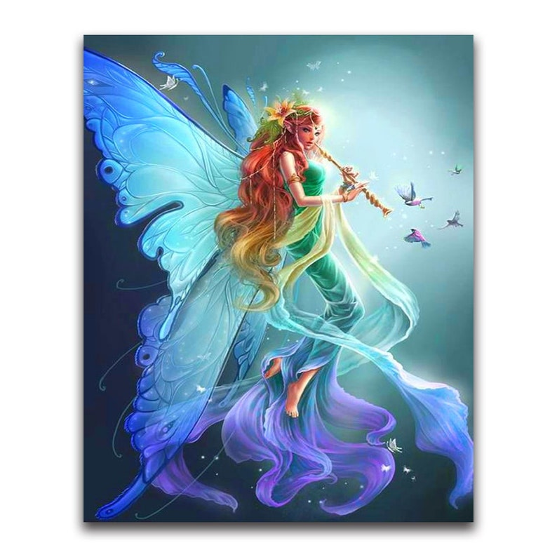 Diamond Mosaic Diy Diamond Embroidery Angel With Lovely Expression Full Diamond Painting Cross Stitch Rhinestone Home Decoration Arts,crafts & Sewing Home & Garden