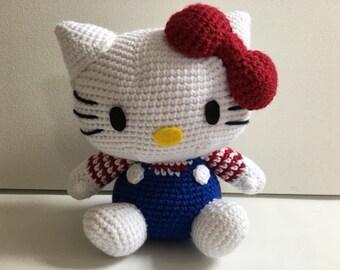 Crochet kitty etsy