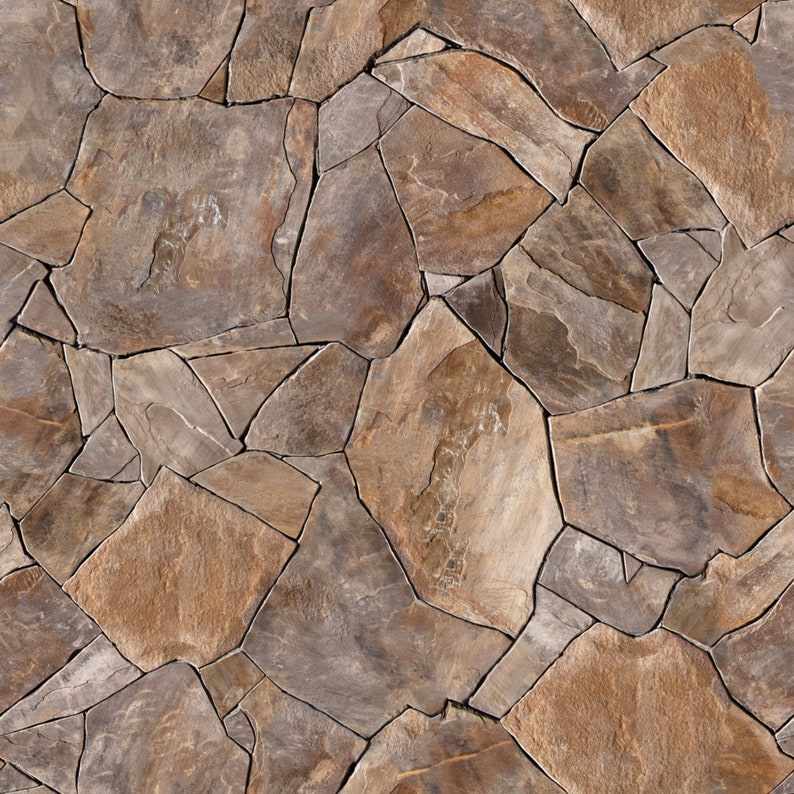 3d Stone Wallpaper Mural With Brown Gray Rock Brick Wall Rock Wall Wall Covering Wall Decor Self Adhesive Prepasted Removable Peel Stick