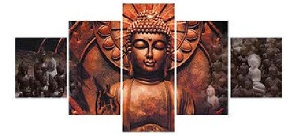 Buddha Painting Buddha Wall Art Canvas Print Canvas | Etsy
