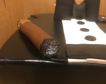 Edible Cigar with Gold Leaf