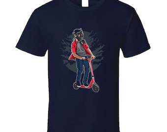 Gas Mask Scooter Shirt