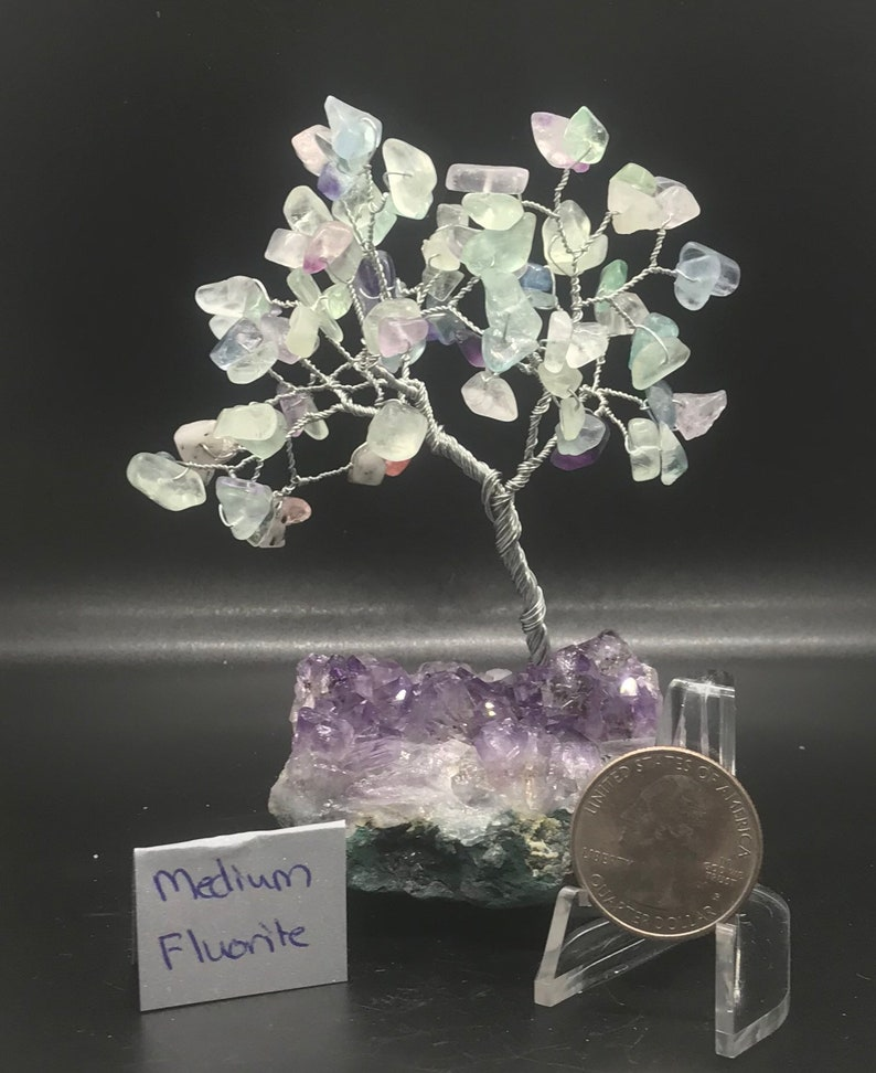 Fluorite tree sculpture image 0