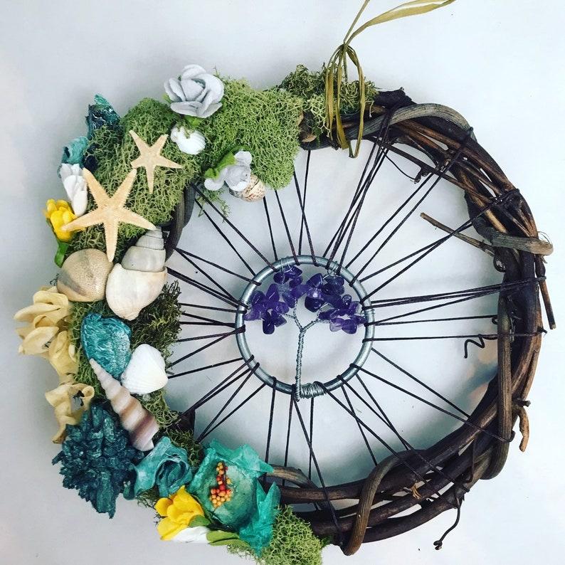 Amethyst dream wreath image 0