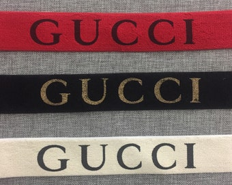 """Elastic waistband 44""""x 1-3/4"""" Terry chenille,Gucci high pile luxurious waistband, stretchy headband, red webbing, chenille elastic band"""