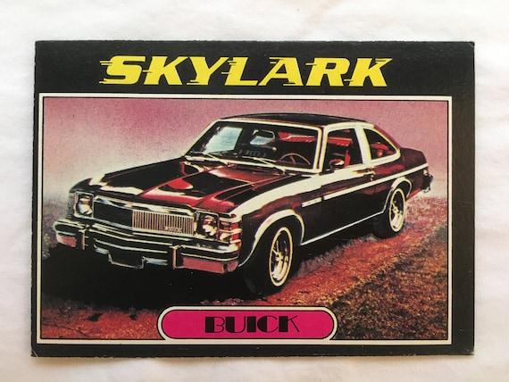 Vintage Mazda RX-4 Sedan Trading Card Topps Autos of 1977