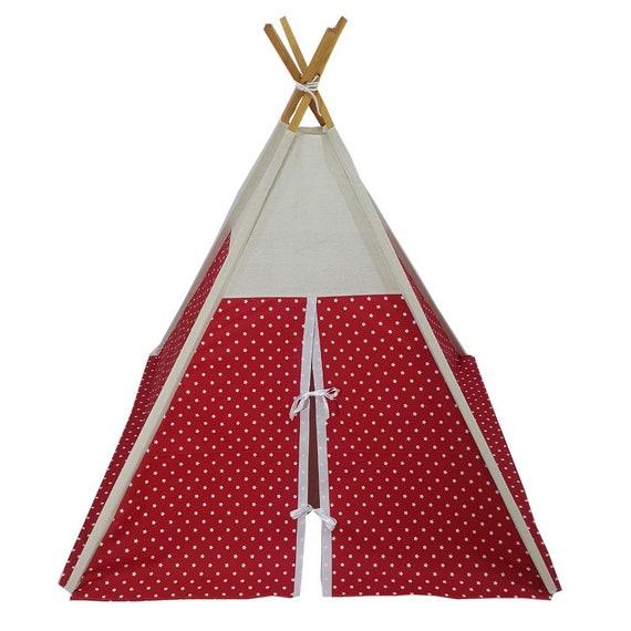 Tente tipi tipi tente indienne enfants indiens jouer tente tente bois coton bébé tente pin enfants