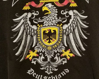 Vintage Old Germany Deutschland Shirt