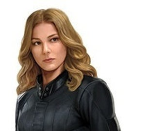 9 Inch Sharon Carter Agent 13 Girlfriend Captain America Civil War Team Cap Marvel Avengers Comics Removable Wall Decal Decorati 2 1/2 x 9