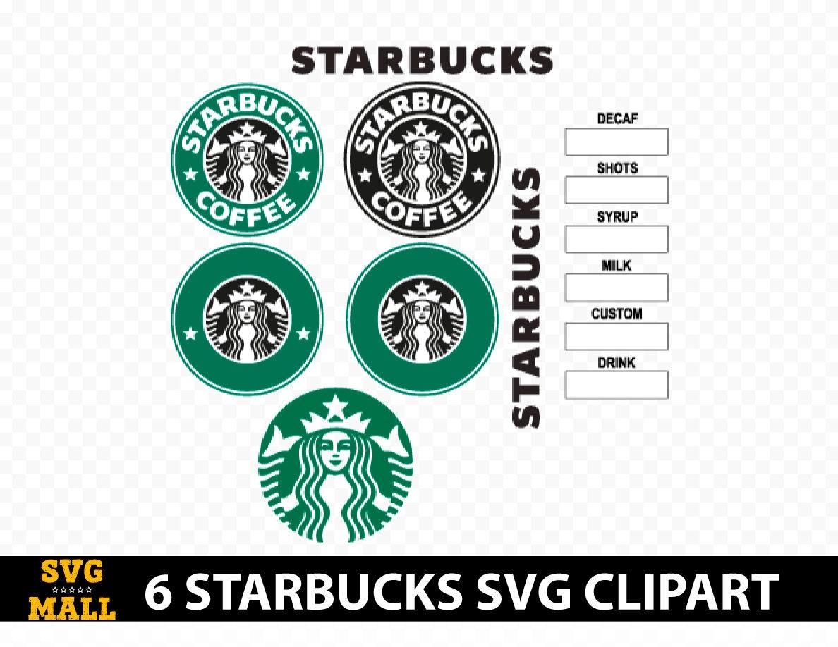 Starbucks svg Starbucks logo svg Starbucks logo vector   Etsy