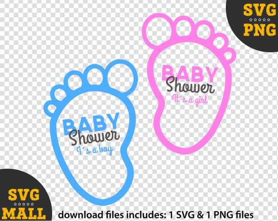 Baby Shower Svg Baby Shower Clipart Baby Clipart Decoracion Etsy