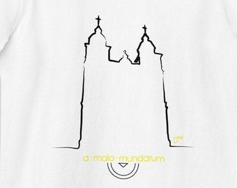 T-shirt Cathedral Malmedy - organic and fitted