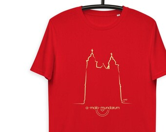 T-shirt Malmedy Cathedral - organic and unisex