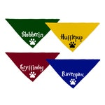 "Harry Potter ""Dogwarts"" Dog Bandana"