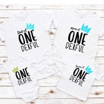Mr. Onederful Onesie | Mr. Onederful Tshirt | First Birthday Outfit | Matching Family Mr. Onederful Shirts