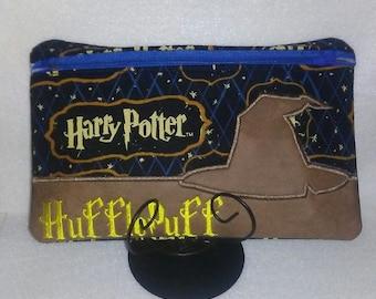 Harry Potter Hufflepuff  Zipper Pouch