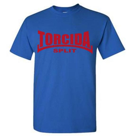 Torcida Split T Shirt Hajduk Ultras Croatia Hrvatska Etsy