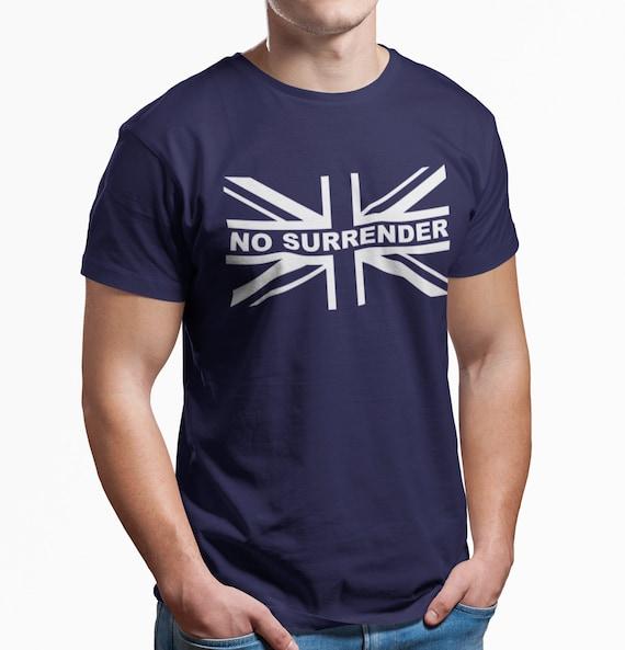 Style Rétro Glasgow Rangers tee shirt watp No Surrender
